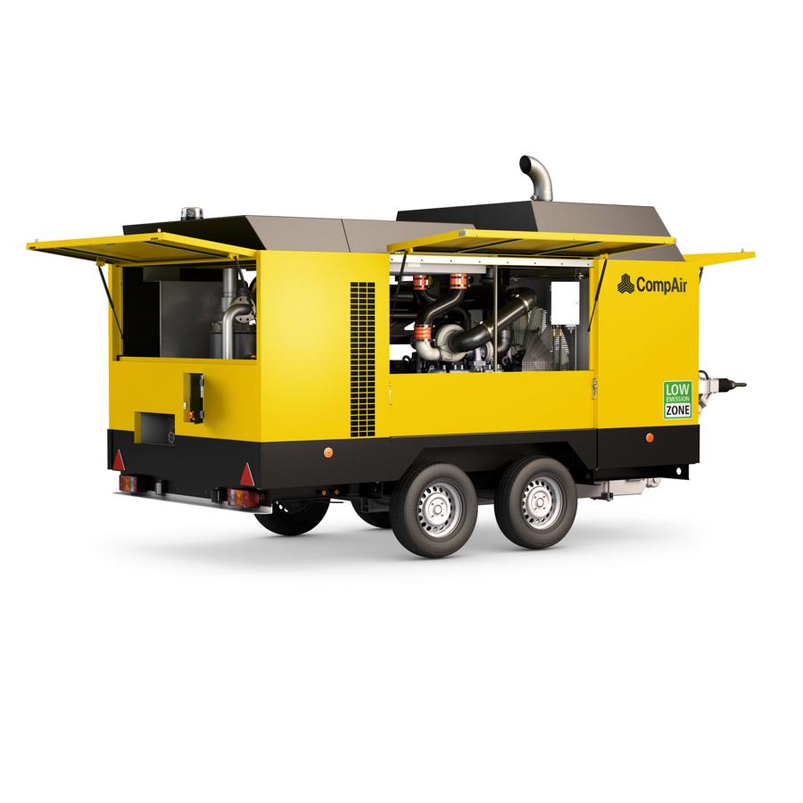 Compresores portátiles diesel